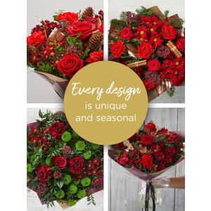 CHRISTMAS LILY FREE FLORIST'S CHOICE HAND-TIED