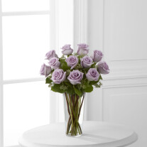 The Lavender Rose Bouquet by FTD® - VASE INCLUDED