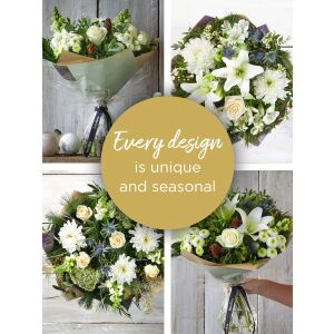 WINTER FLORIST'S CHOICE HAND-TIED
