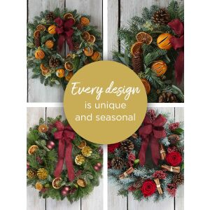 CHRISTMAS FLORIST'S CHOICE WREATH